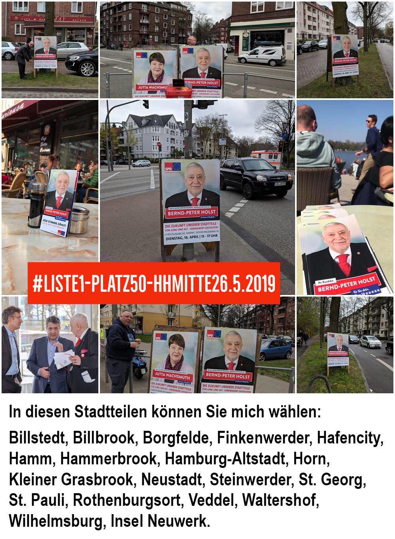 Bernd P. Holst Hamburg Wahl 2019