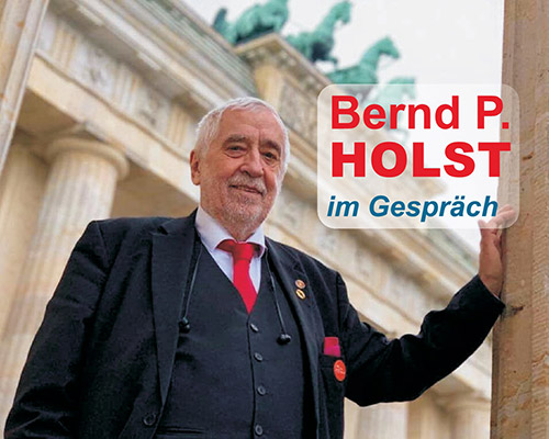 Bernd P. Holst im Gespräch